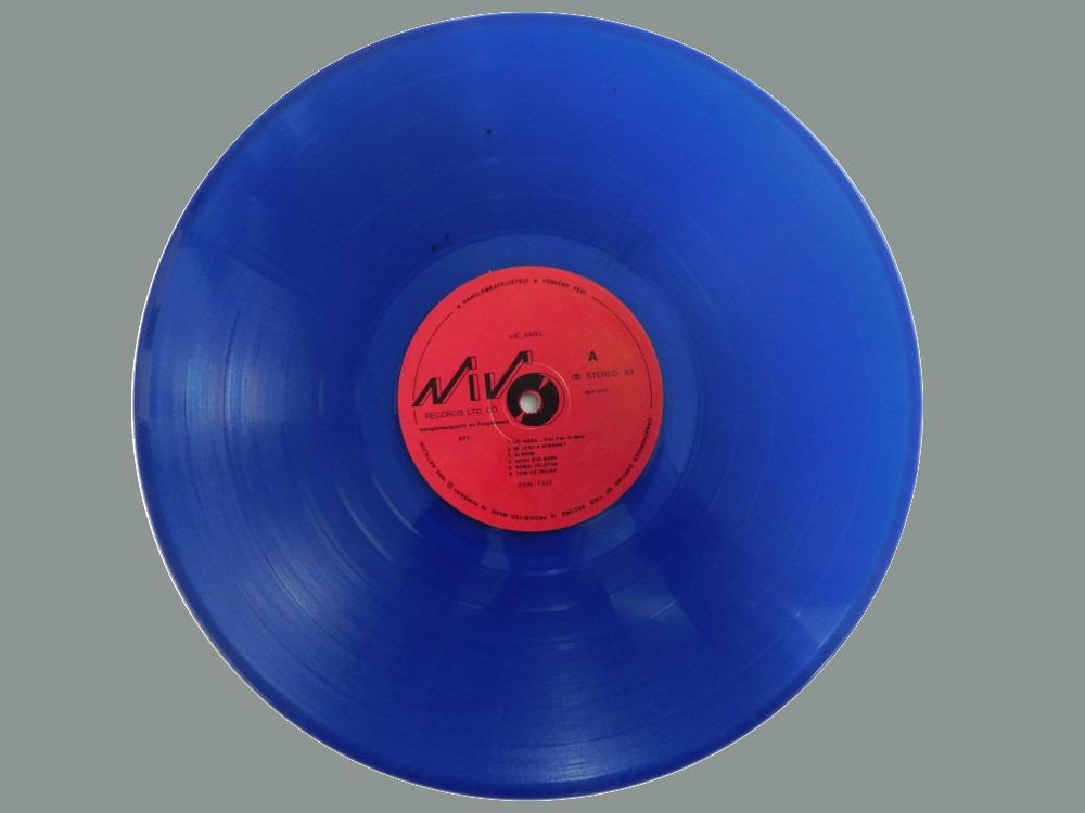 A misztikus kék lemezek