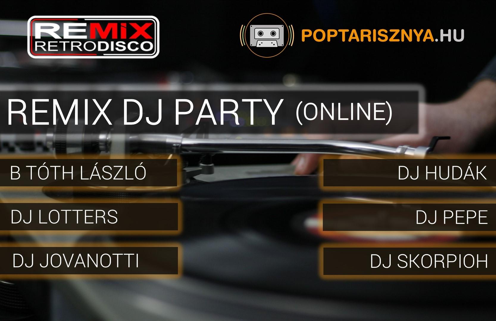 Új műsor indul Remix Dj Party címmel!